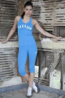 Lady T-Top 5711 blau
