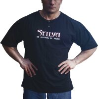 Knopf T-Shirt 6306 schwarz