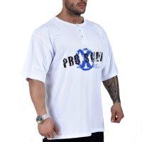 Knopf T-Shirt 6313 weiss