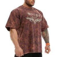 T-Shirt 2857 Batik braun