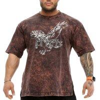 T-Shirt 2861 Batik braun