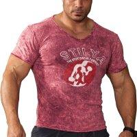 T-Shirt 2868 bordeaux