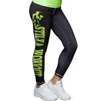 Lady Fitnesspants 1106 schwarz grün
